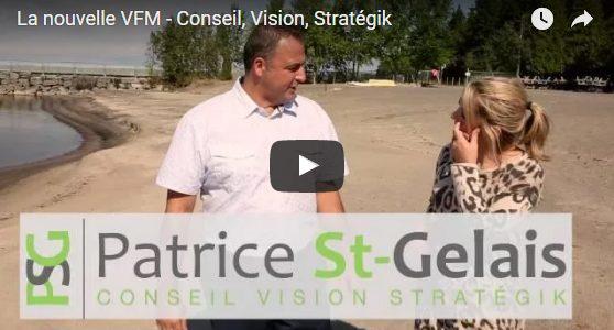 Un premier vidéo pour PSG Conseil Vision Stratégik